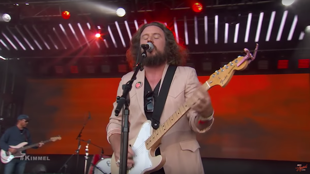 "Watch Jim James Play ""No Secrets"" and ""Throwback"" on <i>Kimmel</i>"