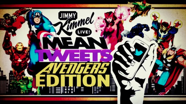"Have a Good Laugh With Jimmy Kimmel's ""Mean Tweets,"" <i>Avengers</i> Edition"