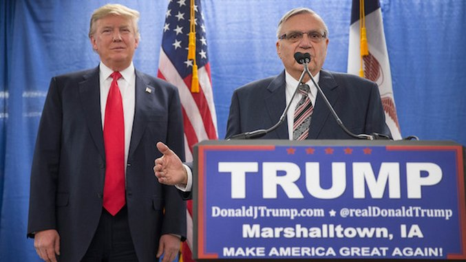 Joe Arpaio Could Definitely Get Behind Being Pardoned By Trump