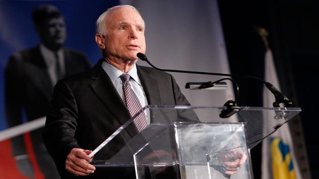 Sen. John McCain Takes Down Sec. Rex Tillerson in <i>NYT</i> Op-Ed