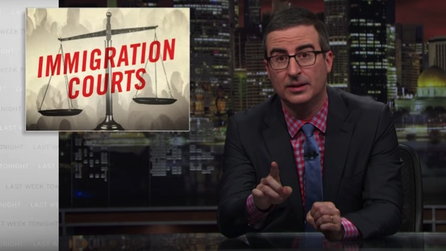 John Oliver Indicts Our Deeply Flawed Immigration Court System on Latest <i>Last Week Tonight</i>