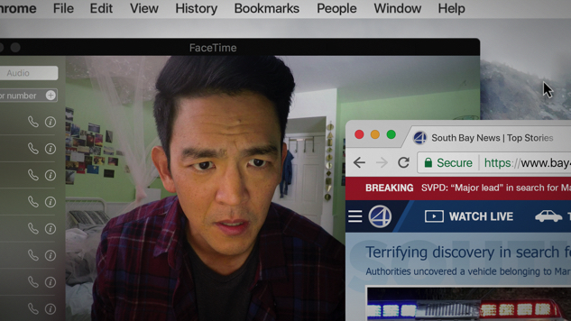 John Cho Follows His Missing Daughter's Digital Trail in Tense First <i>Searching</i> Trailer