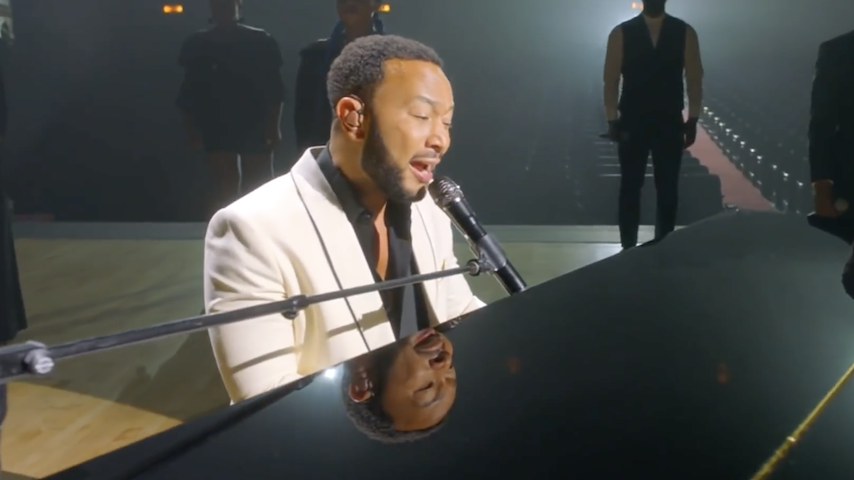 Watch John Legend Perform on Night Two of the Democratic National Convention
