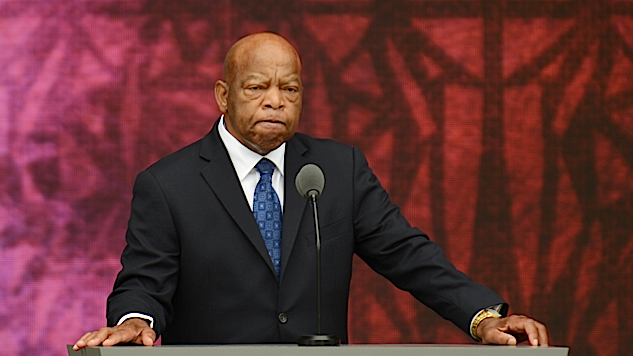 John Lewis Is Everything America Should Be; Trump Is Everything Else