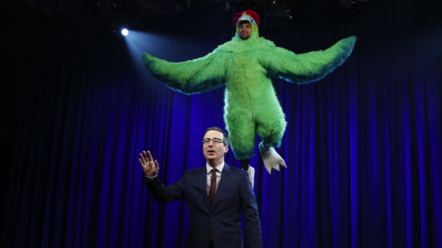 Allow John Oliver (And a Giant Bird) to Educate You on the Venezuela Situation
