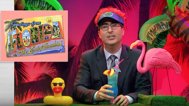 Watch John Oliver Tackle Felony Disenfranchisement, Because Come on, Florida