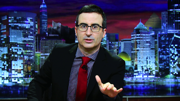 John Oliver Hopes to Keep Trump News to a Minimum (But Isn't Sure How)