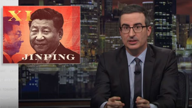 "John Oliver Takes on the Dual Personas of China's ""Uncle Xi"""