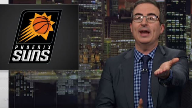 John Oliver Calls for Protection of Aging Boomers from Financial Schemes, Phoenix Suns Games