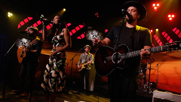 "See Johnnyswim & Drew Holcomb and The Neighbors Perform ""Ring the Bells"" on <i>Kimmel</i>"