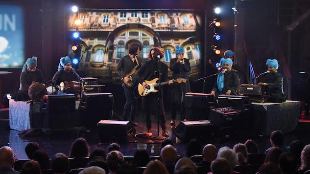 Watch Radiohead's Jonny Greenwood Perform with Junun on <i>Colbert</i>