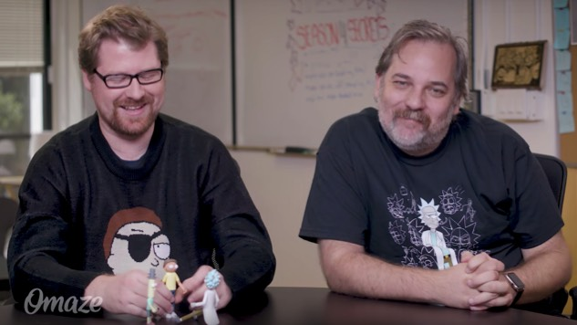Watch Justin Roiland and Dan Harmon Improv a <i>Rick and Morty</i> Scene