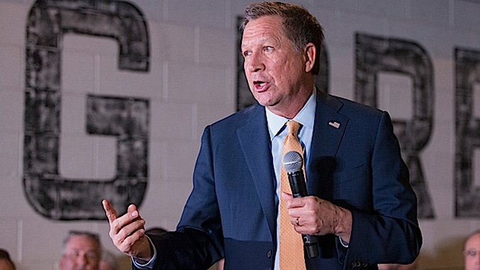 "John Kasich Is Trying the ""Empathetic Republican"" Thing, and It's Really, Really Not Going to Work"