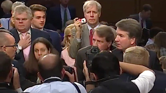Brett Kavanauh Just Snubbed the Father of a Parkland Shooting Victim