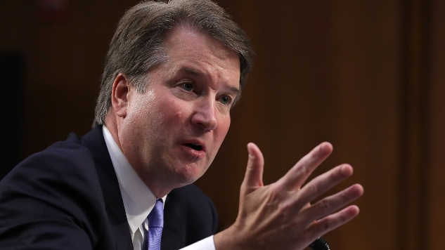Brett Kavanaugh Claims He Grew Up in 'City Plagued By Gun Violence,' Is Full of It