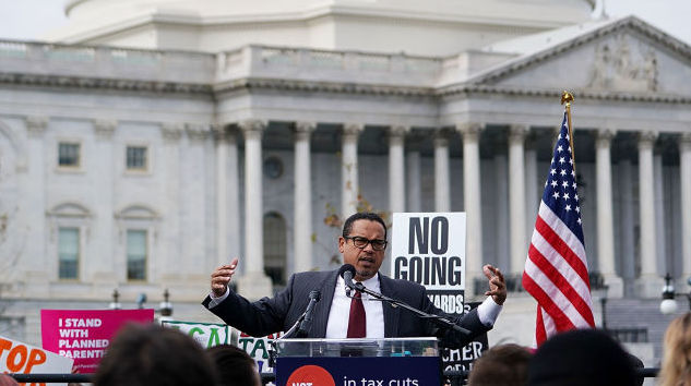Representative Keith Ellison Releases a Study Revealing How Much Money CEOs Really Make