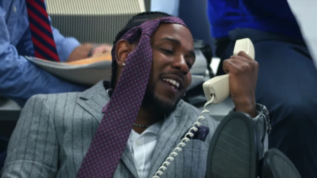"""Watch Kendrick Lamar, Jay Rock and Future Go Full <i>Wolf of Wall Street</i> in the """"King's Dead"""" Video"""