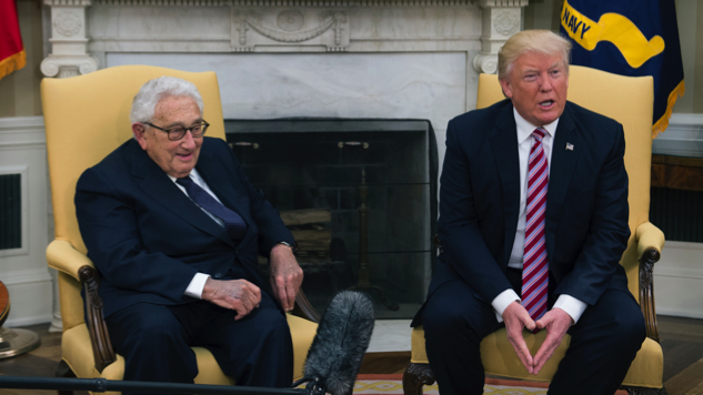In an Effort to End the Nixon Comparisons Once and For All, Trump Holds Photo Op With...Henry Kissinger