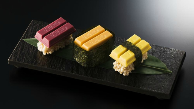 Japan Now Has Kit Kat Sushi, Because Of Course They Do