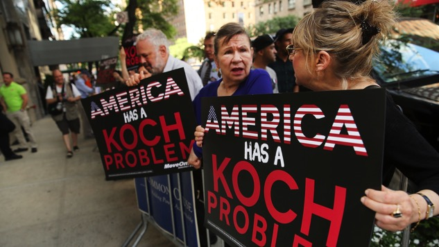 You Didn't Think the Kochs Would Stay Out of All This, Did You?