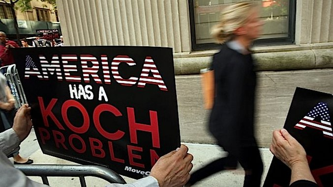 Why Won't the Kochs of the World Run For Office Themselves?