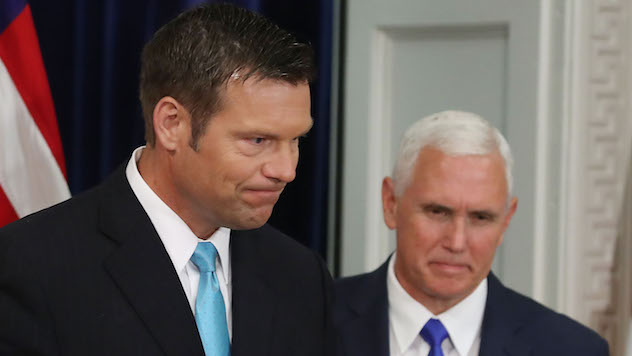 Federal Judge Puts Kris Kobach in His Place by Rejecting Kansas Proof of Citizenship Voting Law