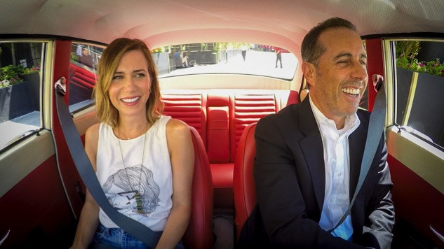 Watch Kristen Wiig Guest on Jerry Seinfeld's <i>Comedians in Cars Getting Coffee</i>