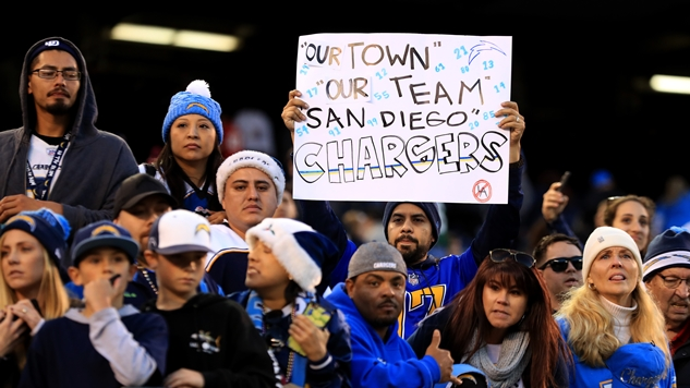 The NFL's San Diego Chargers Are No More, as They Are Chasing the Almighty Dollar North to Los Angeles