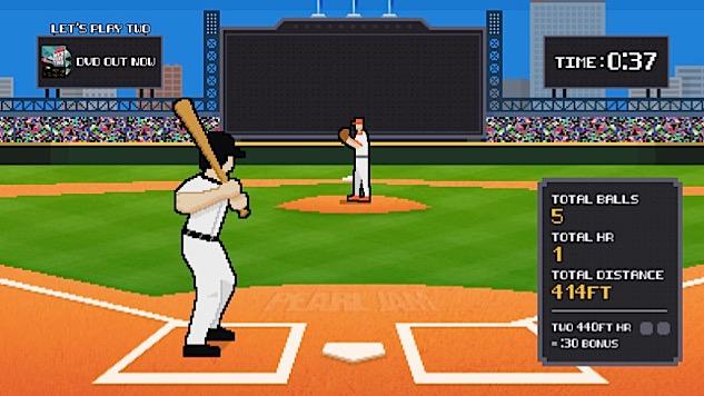 Play the Pearl Jam 8-Bit Baseball Videogame :: Music