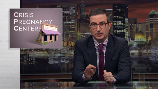 <i>Last Week Tonight</i> Asks You to Come for the Fish Facts, Stay for the Subversion of Women's Reproductive Rights and Health