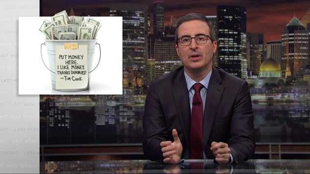 John Oliver Reveals Reason He Paid $7000 For Russell Crowe's Leather Jockstrap