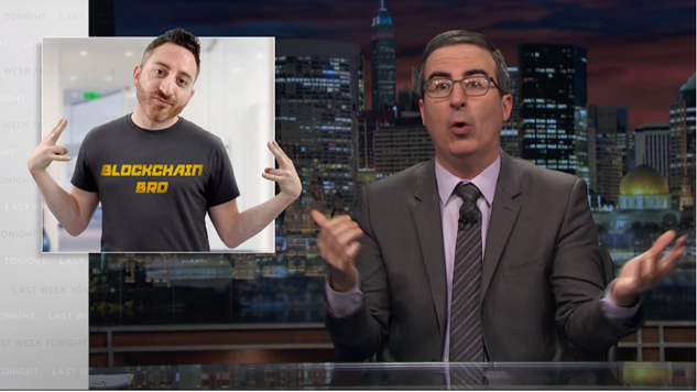 Watch John Oliver Break Down Crypto-Money Moves on <i>Last Week Tonight</i>