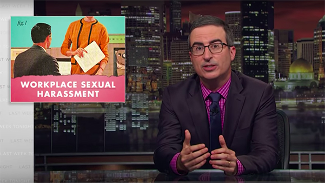 John Oliver Talks Workplace Sexual Harassment and #MeToo with Anita Hill on <i>Last Week Tonight</i>