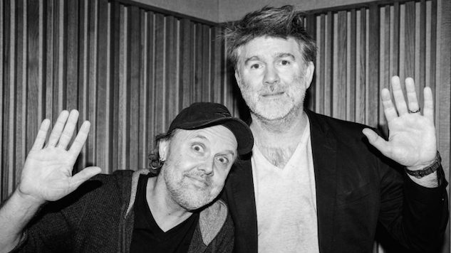 Watch Metallica's Lars Ulrich Interview LCD Soundsystem's James Murphy