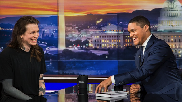 Laura Jane Grace and Trevor Noah Discuss Gender Identity on <i>The Daily Show</i>
