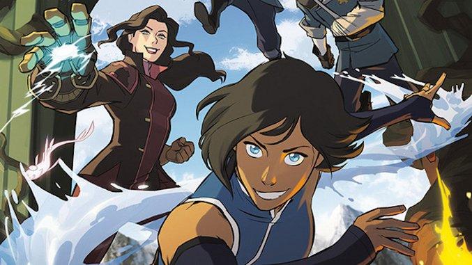 Dark Horse Announces <i>The Legend of Korra</i> Graphic Novel