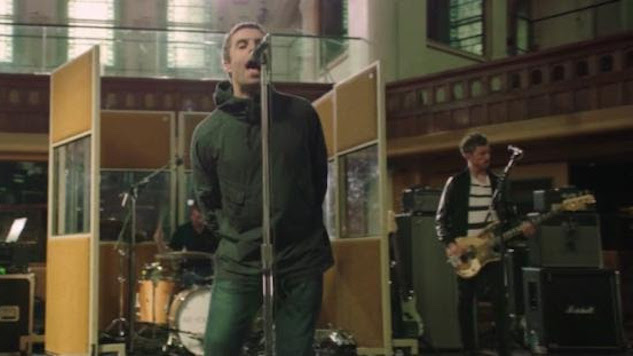 """Liam Gallagher Releases Video for """"Greedy Soul,"""" Recorded at Air Studios in London"""