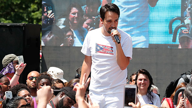 See Lin-Manuel Miranda Sing a <i>Hamilton</i> Lullaby for Migrant Parents Separated from Their Children