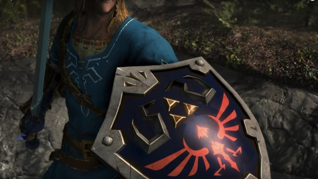 Link from <i>The Legend of Zelda</i> Will Be Playable in <i>Skyrim</i> for the Switch