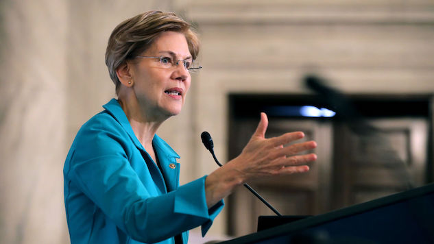 Elizabeth Warren Predicts Economic Crash If Action Isn't Taken By Trump Administration