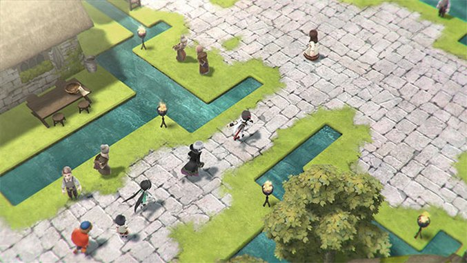 Tokyo RPG Factory's Second JRPG <i>Lost Sphear</i> Coming in Spring 2018