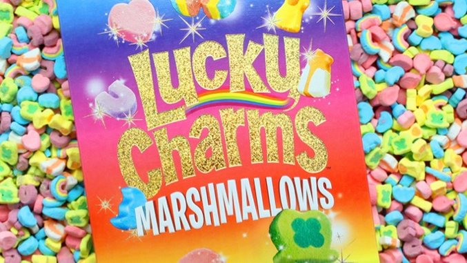 Lucky Charms Is Giving Away 10,000 Boxes of Just Marshmallows