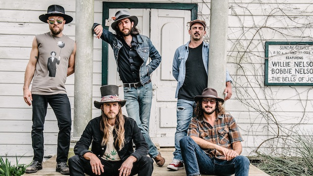 "Listen to Lukas Nelson & Promise of the Real's Blues-Infused Song of Heartbreak, ""Save A Little Heartache"""
