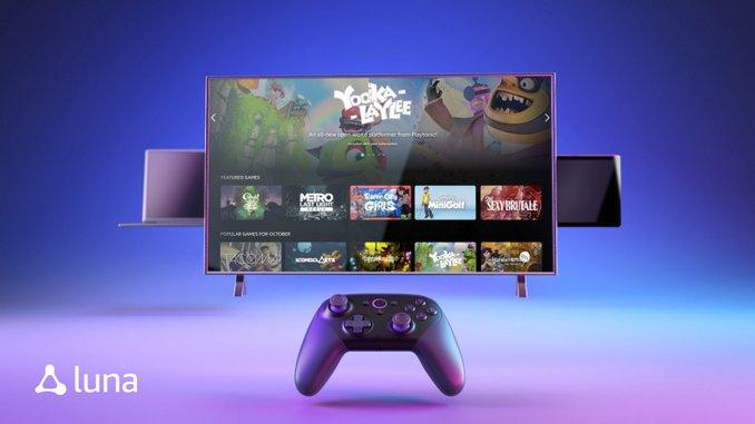 Amazon Announces Luna Videogame Streaming Service