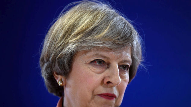 Theresa May Just Delivered the Worst Political Speech of All Time