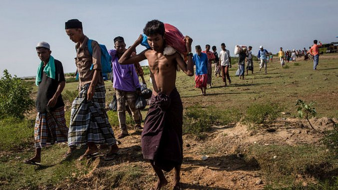 The Persecuted Rohingya Are Fleeing Into Bangladesh