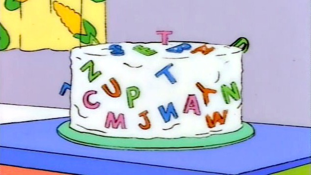 Marge Make Special Cakes Simpsons