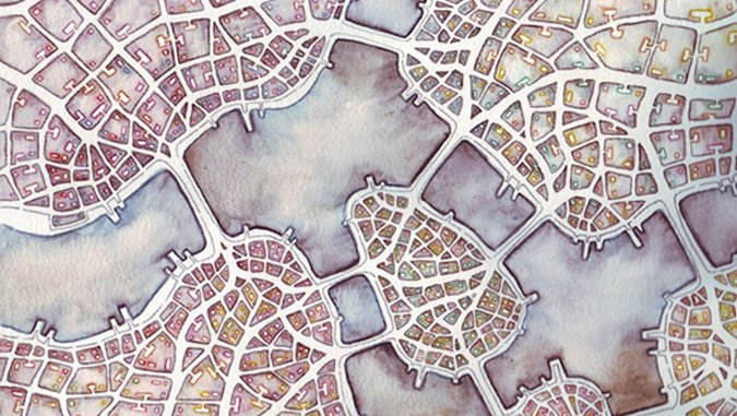 8 Artists Who Combine Cartography and Art