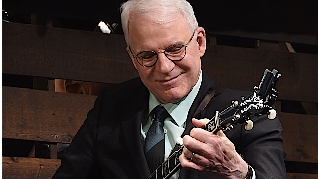 Watch Steve Martin Perform LIVE at Paste on Friday