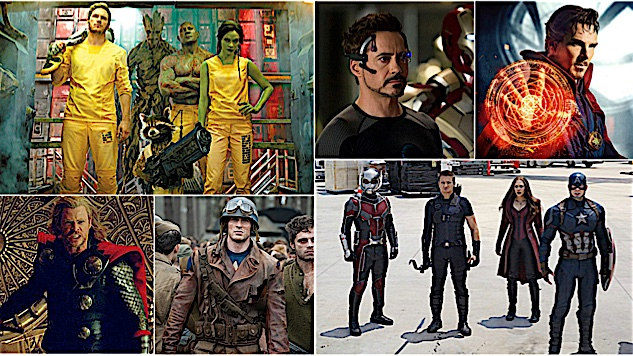 Ranking the Marvel Cinematic Universe from Worst to Best